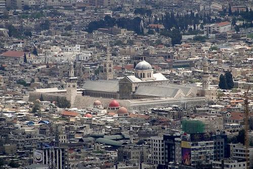 مسجد امویان سوریه