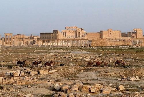 شهر باستانی پالمیرا سوریه