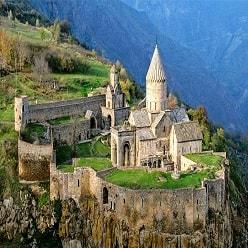 15 مکان دیدنی در ارمنستان