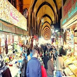 بازار اسپیس در استانبول، ترکیه