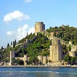 قلعه قرون وسطی Rumelihisarı استانبول