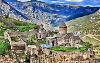 تور ارمنستان + گرجستان آذر 98